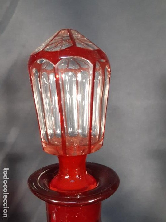 Antigüedades: Botellas. Cristal. John Walsh. Inglaterra. Siglo XIX. - Foto 8 - 188677822