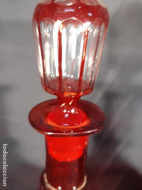 Antigüedades: Botellas. Cristal. John Walsh. Inglaterra. Siglo XIX. - Foto 13 - 188677822