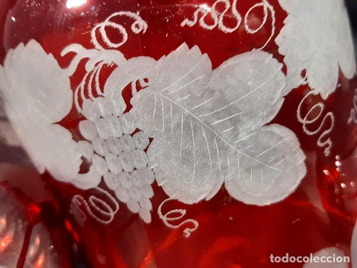 Antigüedades: Botellas. Cristal. John Walsh. Inglaterra. Siglo XIX. - Foto 25 - 188677822