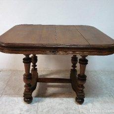 Antigüedades: ANTIGUA MESA DE ROBLE. Lote 188683905