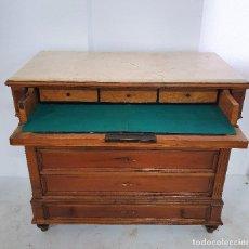 Antigüedades: ANTIGUA COMODA SECRETER. Lote 188688858