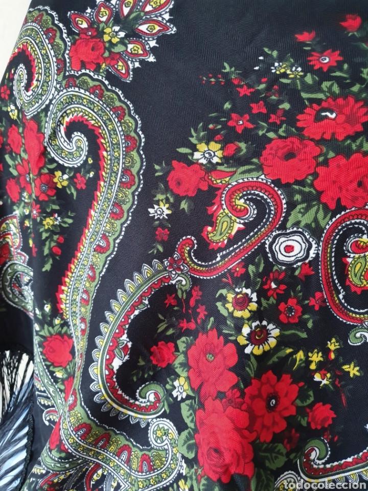 Antigüedades: Pañuelo para traje regional - Foto 4 - 188696283