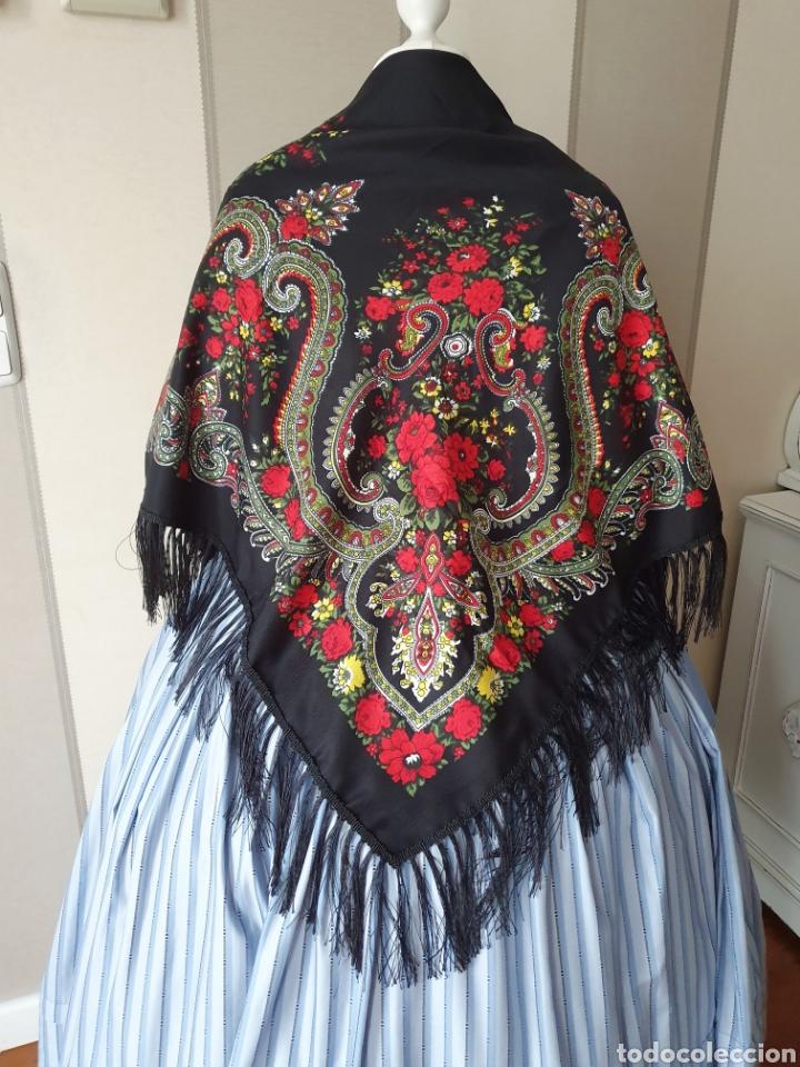 PAÑUELO PARA TRAJE REGIONAL (Antigüedades - Moda y Complementos - Mujer)