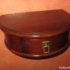 Antiquités: REPISA DE MADERA CON CAJÓN.. Lote 188722227
