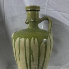 Antigüedades: ANTIGUA TINAJA / AGUADERA SEMIVIDRIADA. Lote 188745098