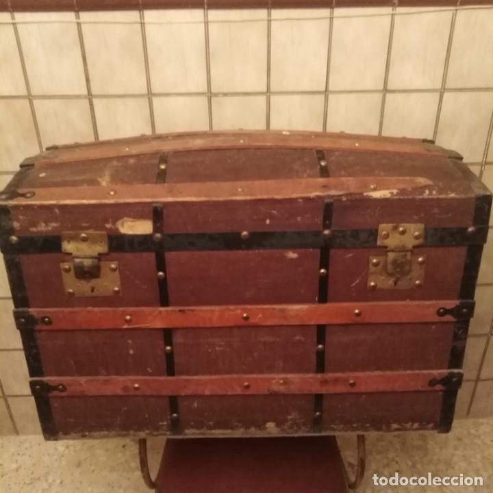 ARCA, BAÚL DEL SIGLO XIX (Antigüedades - Muebles Antiguos - Baúles Antiguos)