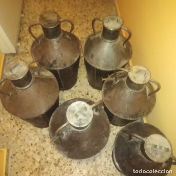 Antigüedades: Cántaros de aceite del siglo xix - Foto 9 - 188772910