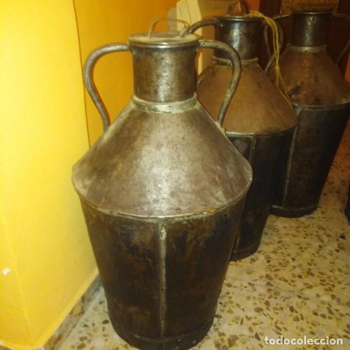 Antigüedades: Cántaros de aceite del siglo xix - Foto 10 - 188772910