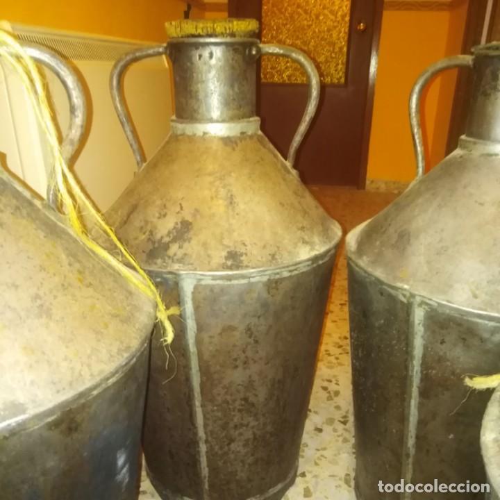 Antigüedades: Cántaros de aceite del siglo xix - Foto 11 - 188772910