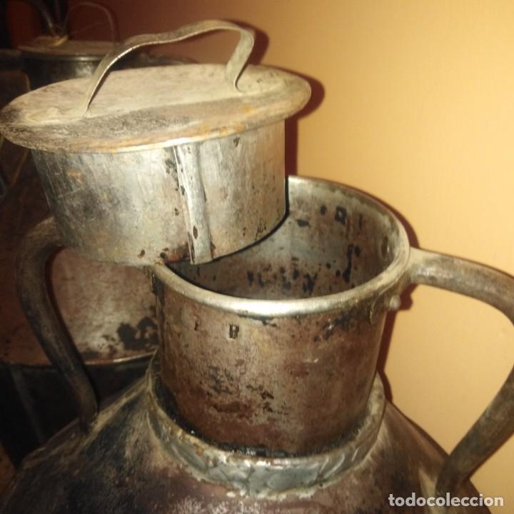 Antigüedades: Cántaros de aceite del siglo xix - Foto 13 - 188772910