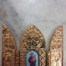 Antigüedades: BONITO RELICARIO 8,5 X 7 CM. Lote 188808658