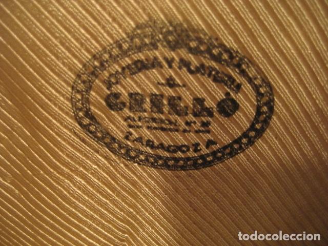 Antigüedades: ESTUCHE 6 CUCHARILLAS DE CAFE. PLATA CON CONTRASTE. PLATERIA GRILLO ZARAGOZA - Foto 8 - 188830275