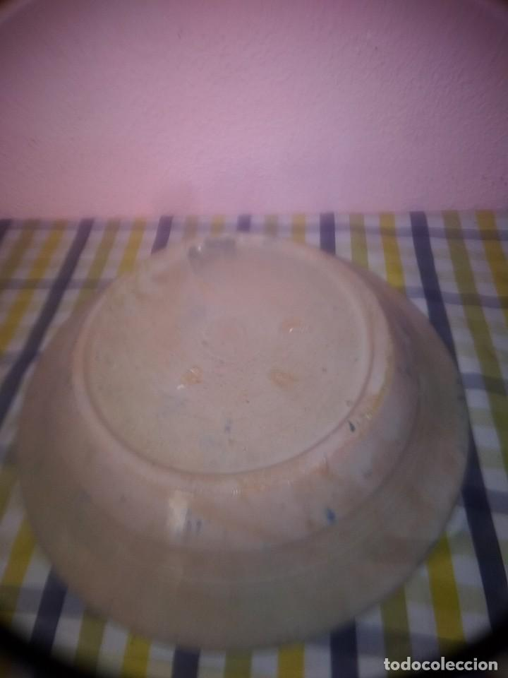 Antigüedades: Bonito plato de fajaluza antiguo - Foto 2 - 188839165