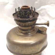 Antigüedades: QUINQUÉ CUENCO BRONCE LAMPARA SUBE Y BAJA S XIX.. Lote 188844196