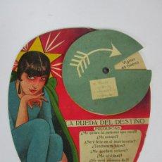 Antigüedades: ABANICO - PAY PAY - LA RUEDA DEL DESTINO - AÑOS 20. Lote 188862436