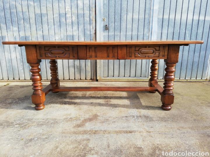 Antigüedades: Mesa nogal restaurada - Foto 2 - 189086315