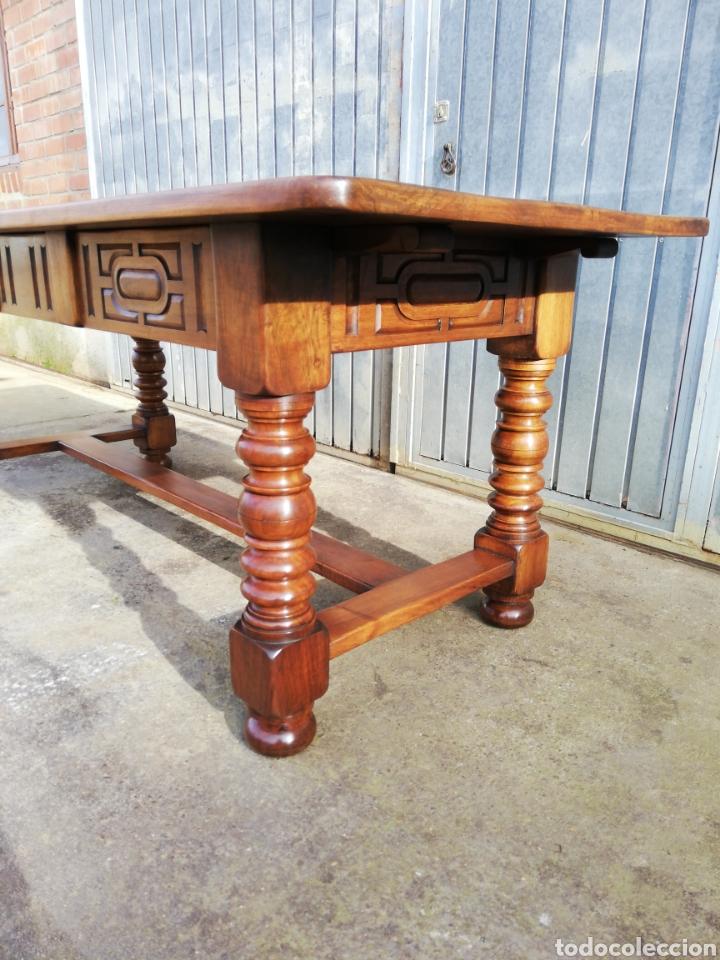 Antigüedades: Mesa nogal restaurada - Foto 5 - 189086315