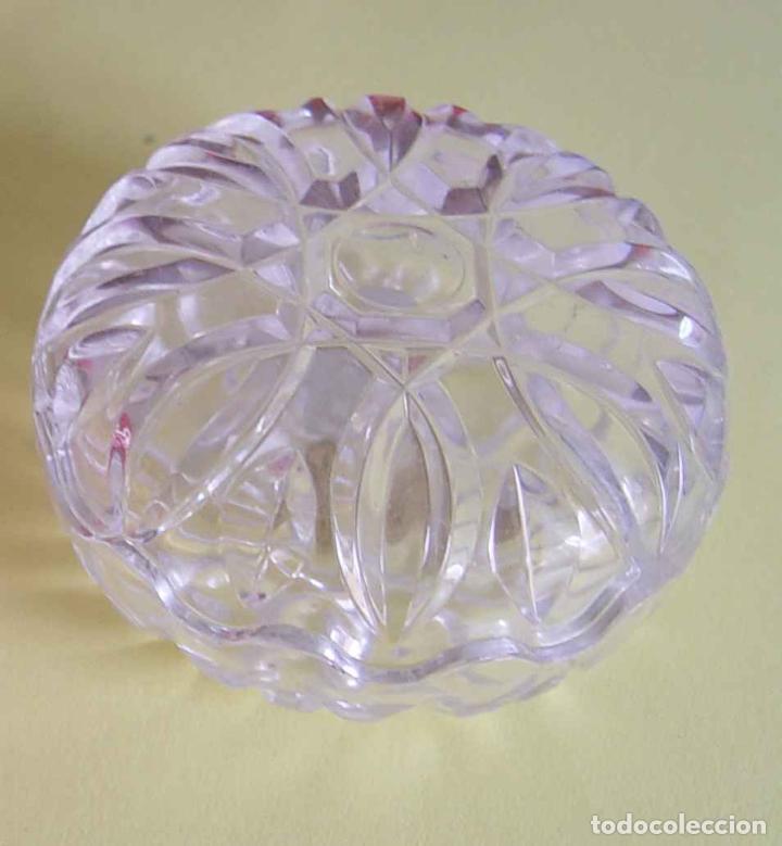 Antigüedades: Bombonera RCR (Italia) Cristal tallado al plomo 24% ¡Original! Nueva ¡Coleccionista! - Foto 3 - 189093676
