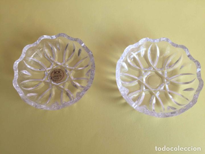Antigüedades: Bombonera RCR (Italia) Cristal tallado al plomo 24% ¡Original! Nueva ¡Coleccionista! - Foto 5 - 189093676