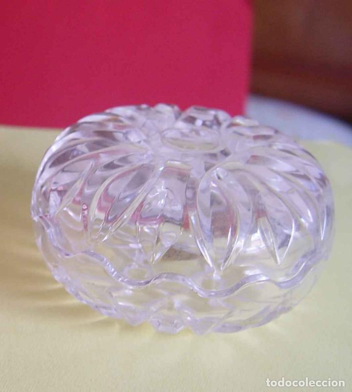 Antigüedades: Bombonera RCR (Italia) Cristal tallado al plomo 24% ¡Original! Nueva ¡Coleccionista! - Foto 9 - 189093676