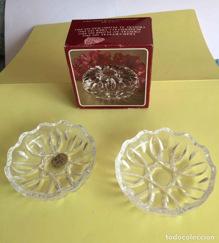 Antigüedades: Bombonera RCR (Italia) Cristal tallado al plomo 24% ¡Original! Nueva ¡Coleccionista! - Foto 10 - 189093676