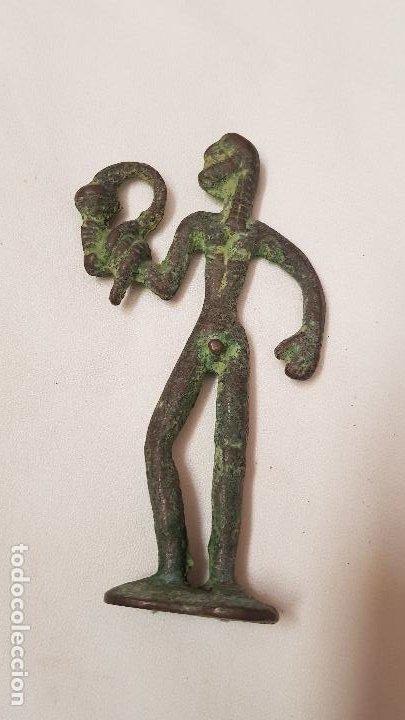 Antigüedades: FIGURA BRONCE - Foto 2 - 189100633
