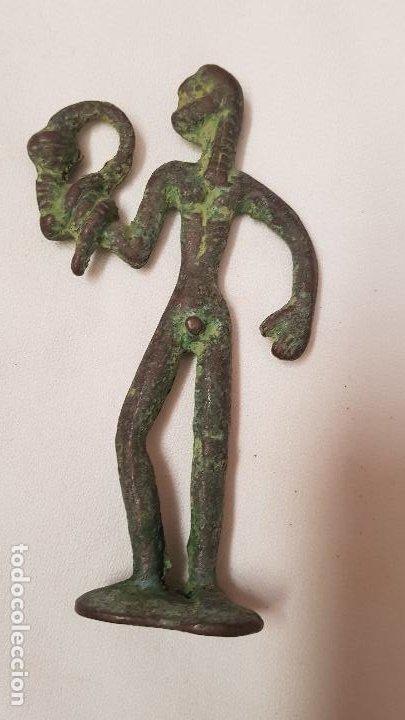 Antigüedades: FIGURA BRONCE - Foto 3 - 189100633