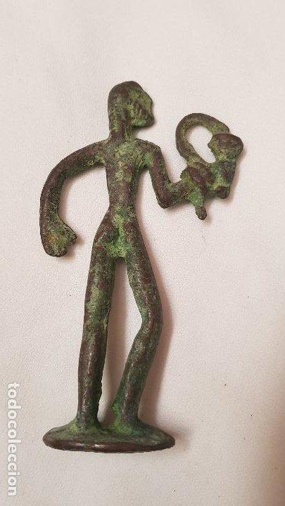 FIGURA BRONCE (Antigüedades - Hogar y Decoración - Otros)