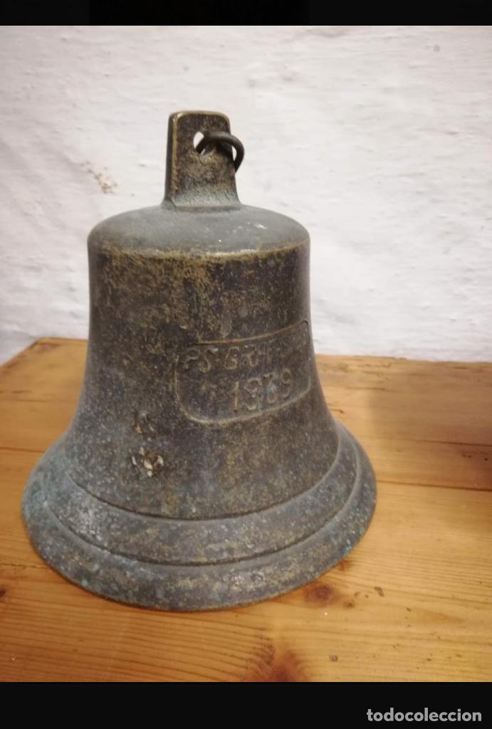REPLICA CAMPANA 1939 PS GRAF SPEE (Antigüedades - Hogar y Decoración - Campanas Antiguas)
