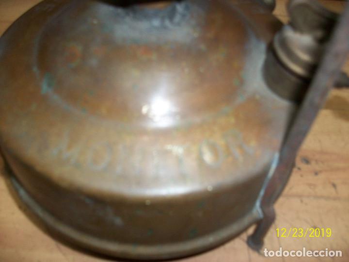 Antigüedades: ANTIGUO INFIERNILLO O FOGON-INGLES-MONITOR - Foto 5 - 189124745