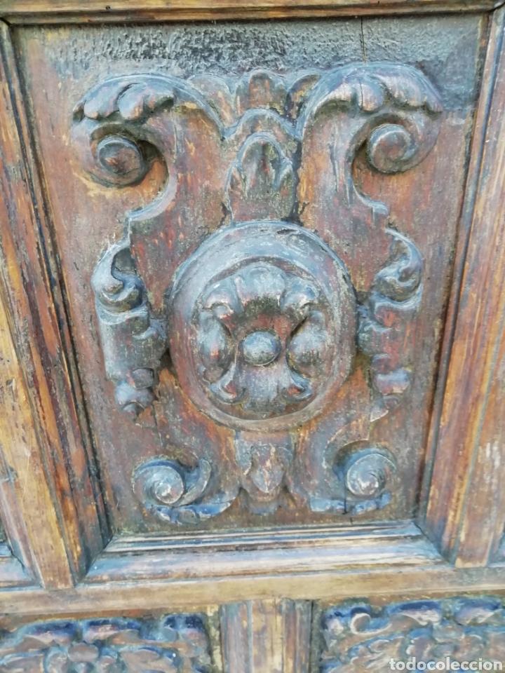 Antigüedades: EXTRAORDINARIA PUERTA DE ALACENA BARROCA - Foto 6 - 189160540