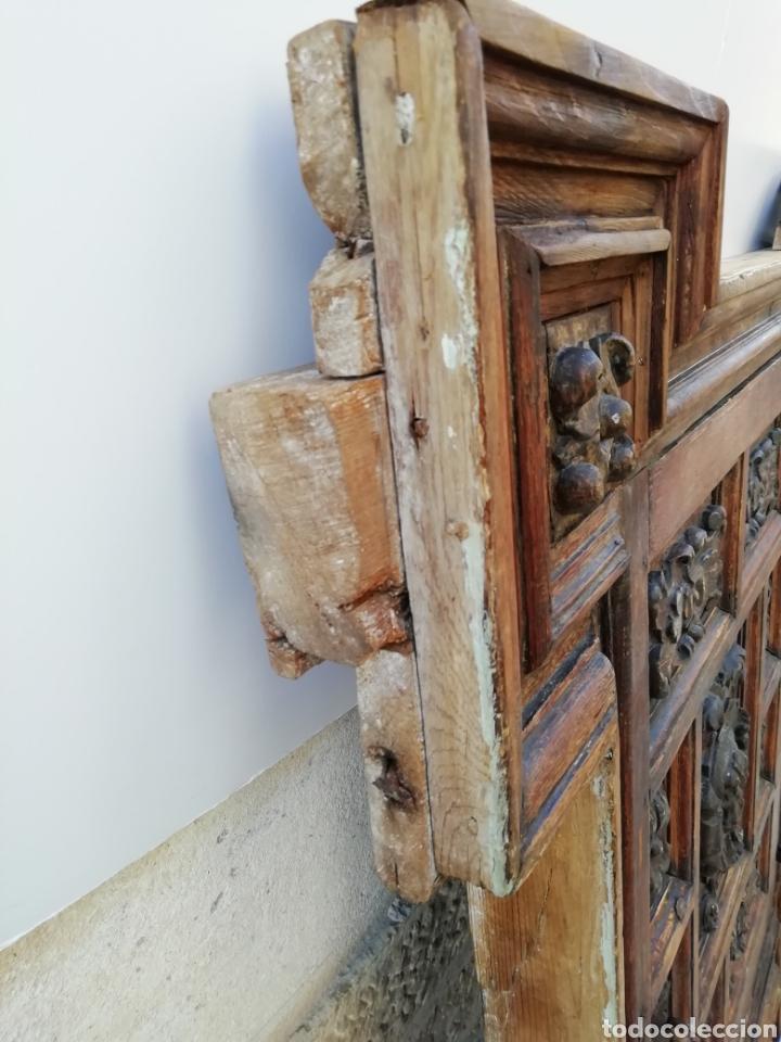 Antigüedades: EXTRAORDINARIA PUERTA DE ALACENA BARROCA - Foto 7 - 189160540