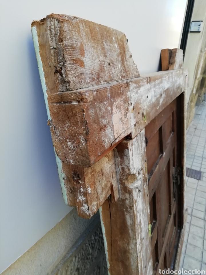 Antigüedades: EXTRAORDINARIA PUERTA DE ALACENA BARROCA - Foto 12 - 189160540