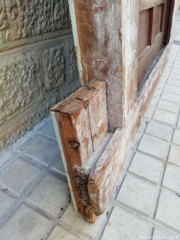 Antigüedades: EXTRAORDINARIA PUERTA DE ALACENA BARROCA - Foto 13 - 189160540