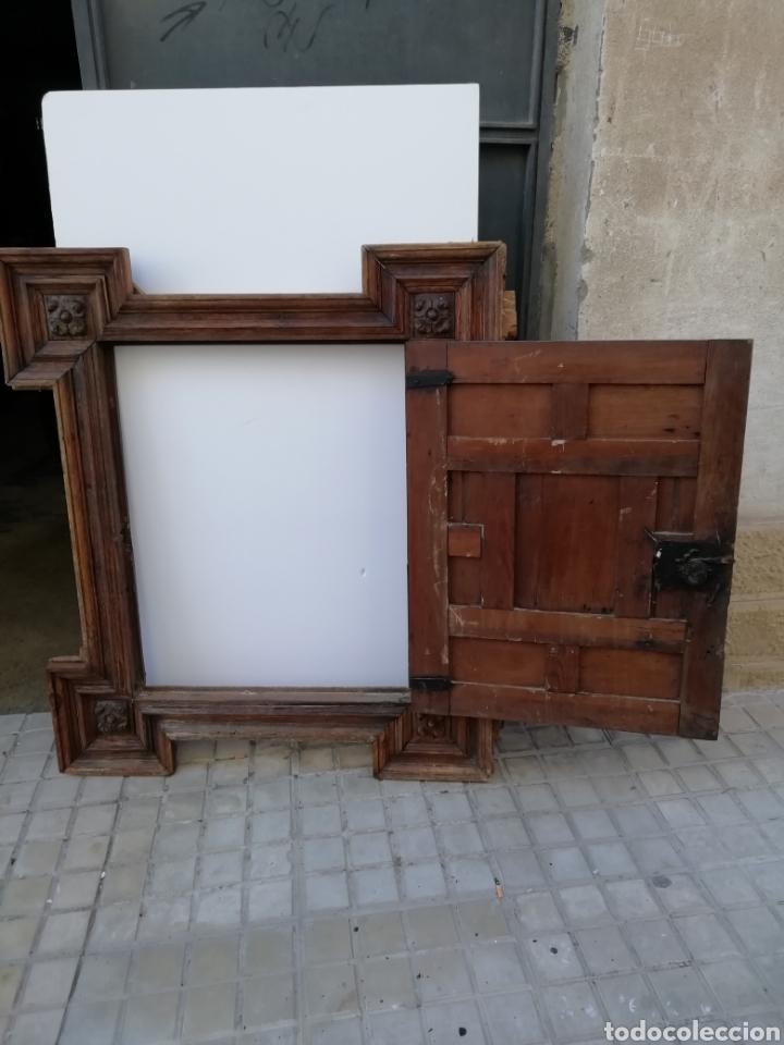 Antigüedades: EXTRAORDINARIA PUERTA DE ALACENA BARROCA - Foto 15 - 189160540