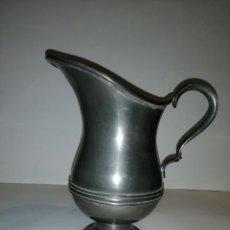 Antigüedades: JARRA DE ESTAÑO MARCA ESTAÑOL. Lote 189165775