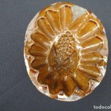 Antigüedades: ALFALERÍA PENINSULAR: MOLDE DE PASTELERÍA. Lote 189168385