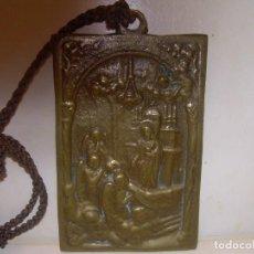 Antigüedades: ANTIGUO PORTA PAZ DE BRONCE.. Lote 189180711