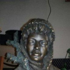 Antigüedades: ESCULTURA EN RESINA FIRMADA M.SENSERRICH. Lote 189183593