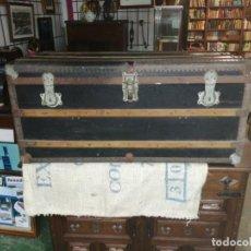 Antigüedades: BAUL FINALES SIGLO XIX. Lote 189185936