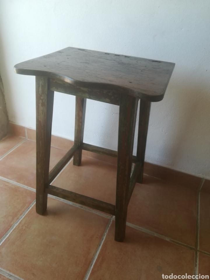 MESITA RUSTICA ANTIGUA (Antigüedades - Muebles Antiguos - Auxiliares Antiguos)