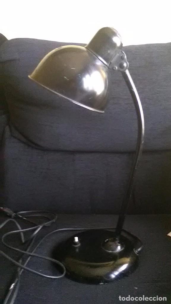 CHRISTIAN DELL, BAUHAUSE, LAMPARA SOBREMESA (Antigüedades - Iluminación - Lámparas Antiguas)