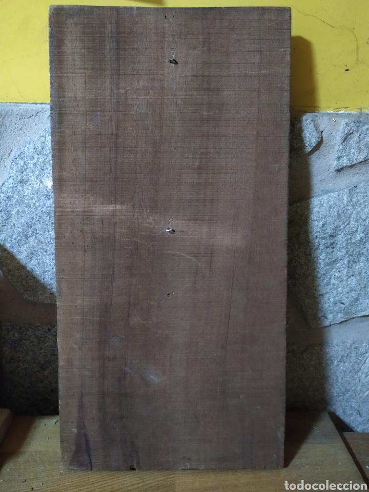 Antigüedades: Talla madera cristo en la cruz - Foto 4 - 189209000