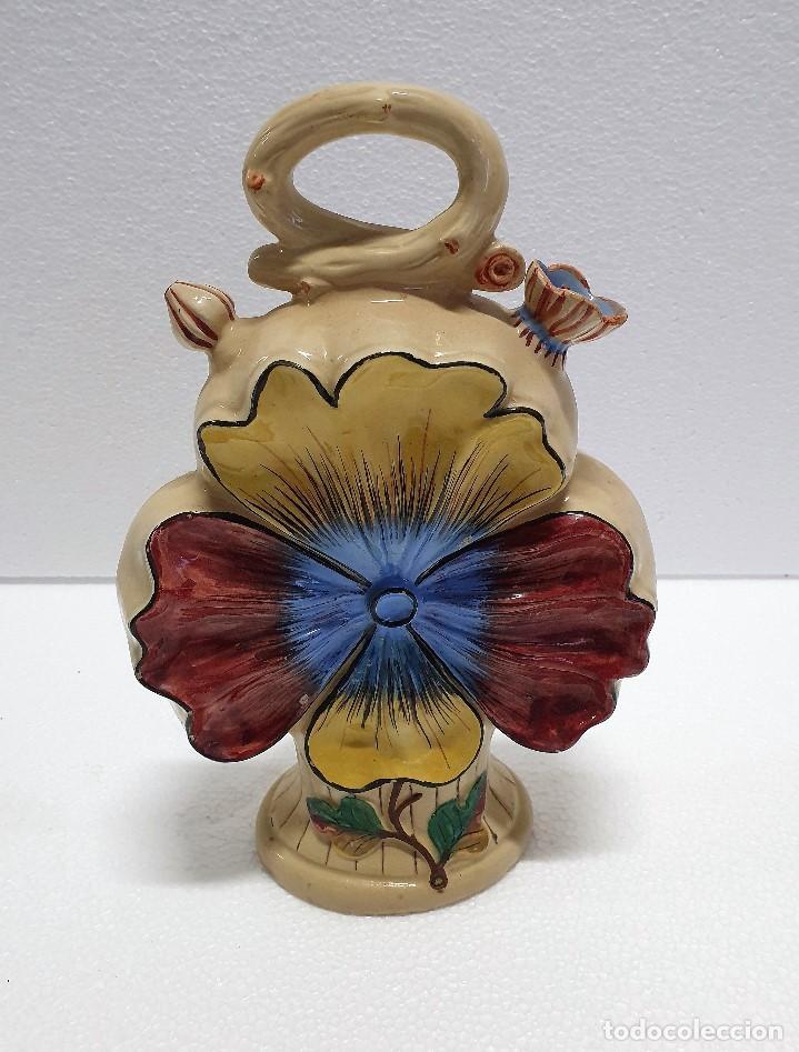 ANTIGUO BOTIJO CERAMICA SELLADA (Antigüedades - Porcelanas y Cerámicas - Otras)