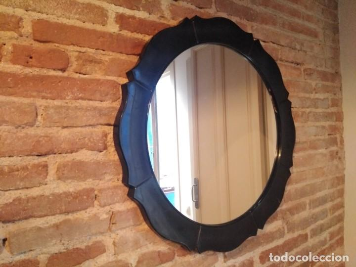Antigüedades: Espejo resina vintage - Foto 2 - 188710197