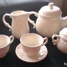 Antigüedades: JUEGO CAFÉ, SAN CLÁUDIO ASTURIES. Lote 189245583