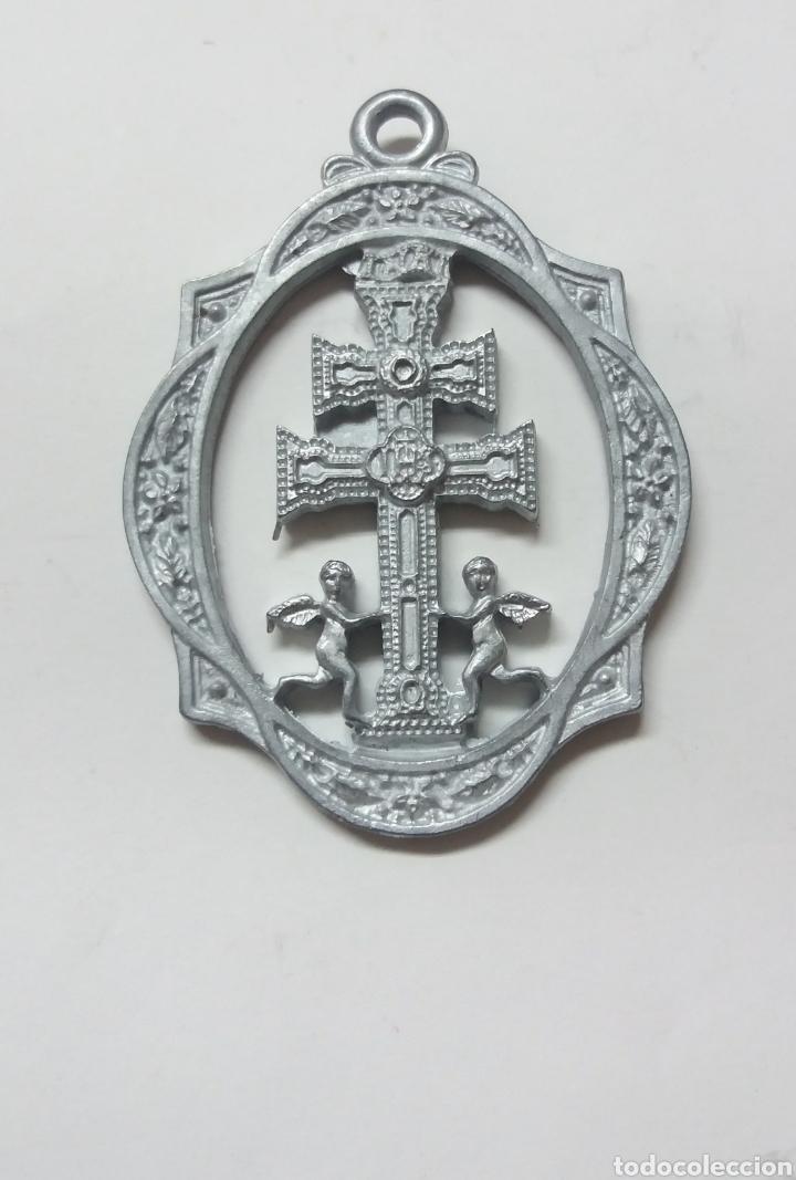 MEDALLA STMA Y VERA CRUZ DE CARAVACA, AÑO JUBILAR IN PERPETUUM, CARAVACA DE LA CRUZ MURCIA (Antigüedades - Religiosas - Medallas Antiguas)