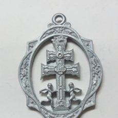 Antigüedades: MEDALLA STMA Y VERA CRUZ DE CARAVACA, AÑO JUBILAR IN PERPETUUM, CARAVACA DE LA CRUZ MURCIA. Lote 189274623