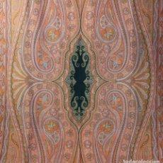 Antigüedades: ANTIGUO MANTON DE LANA, SIGLO XIX, 340 X 165 CM.. Lote 189318166