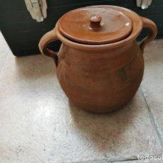 Antigüedades: ANTIGUA HOYA O PUCHERO COMPLETA . Lote 189340177